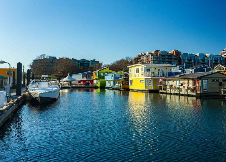 seasonal home and marine insurance floating homes